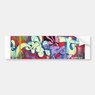 Graffiti Car Bumper Sticker