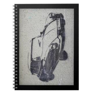 Graffiti Car Notebook