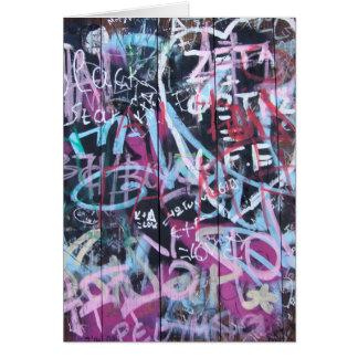 Graffiti Card