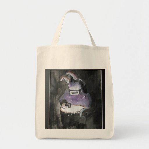 Graffiti/cartoon art  - Rabbit Welder Bag