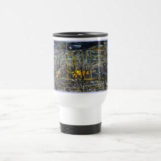 Graffiti Cats travel mug