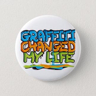 Graffiti Changed My Life Button