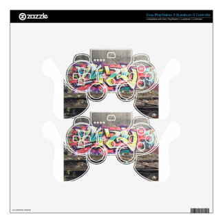 Graffiti Chicago PS3 Controller Decals