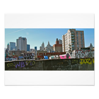 Graffiti- Chinatown NYC Photo Print