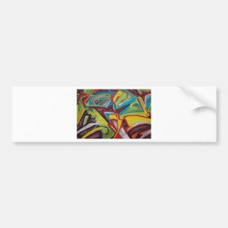 Graffiti Closeup Bumper Sticker
