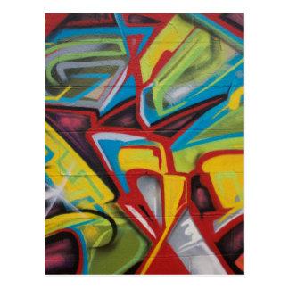 Graffiti Closeup Postcard