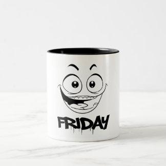 Graffiti Coffee Mug Fridays