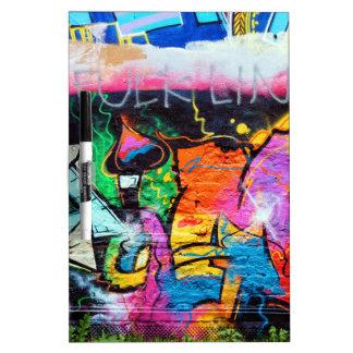 graffiti colors art painting dryerase board - Dry Erase Board Paint