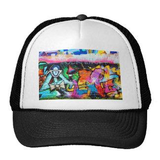 graffiti Colors Art Painting Trucker Hat