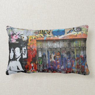 """Graffiti cushions """"Paris & Berlin"""" ♥ Street kind Pillow"""