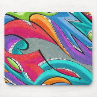 Graffiti | Customizable Mouse Pad