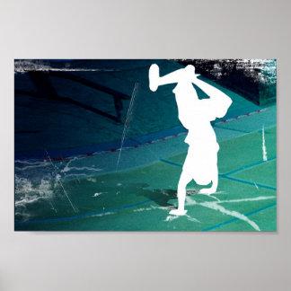 Graffiti Dancer Poster