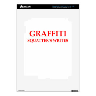 GRAFFITI DECAL FOR iPad 3