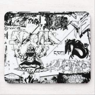 Graffiti Delight Mouse Mat