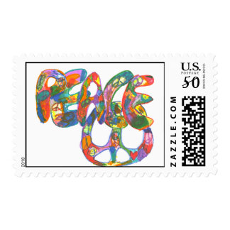 Graffiti Design Peace Stamp