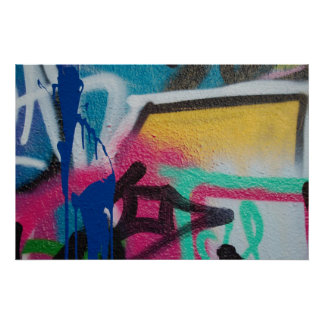 graffiti detail poster