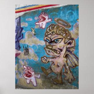 Graffiti - Devil or Angel? Poster