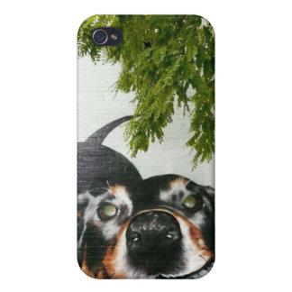 Graffiti Dog Case For iPhone 4