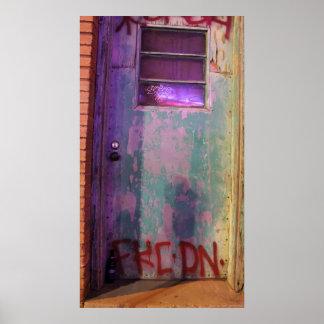 Graffiti Door Poster