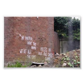 graffiti editor photo print