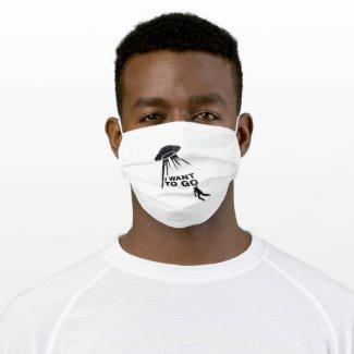 Graffiti Escape Cloth Face Mask