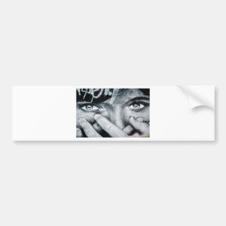 Graffiti Eye Bumper Sticker