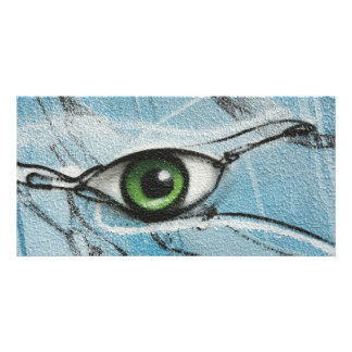 Graffiti Eye Card