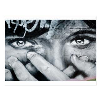 Graffiti Eye Postcard