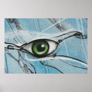 Graffiti Eye Poster
