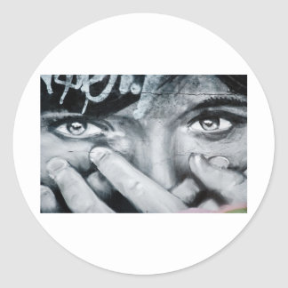 Graffiti Eye Stickers