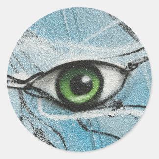 Graffiti Eye Stickers