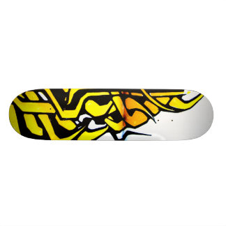 Graffiti Flame Skateboard Deck