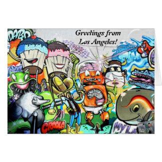 Graffiti Fun Greeting Card