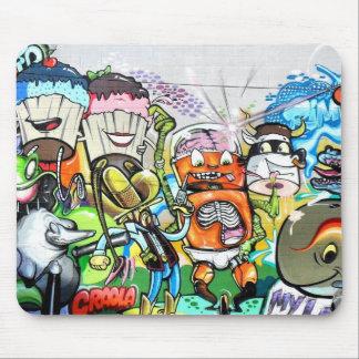 Graffiti Fun Mouse Pad