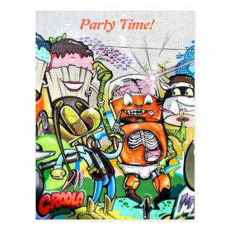 Graffiti Fun Post Cards