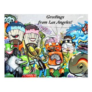 Graffiti Fun Postcard