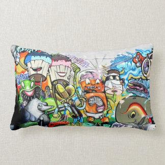 Graffiti Fun Throw Pillows