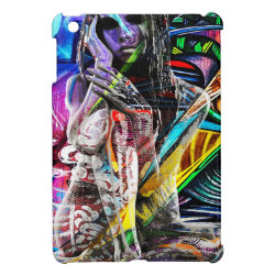 Graffiti girl case for the iPad mini