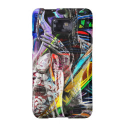 Graffiti girl samsung galaxy s2 cover