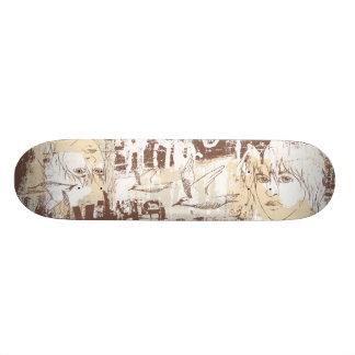 Graffiti Girl Skateboard Deck