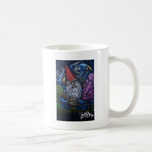 Graffiti Gnome Coffee Mugs