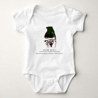 Graffiti Grenade Baby Bodysuit