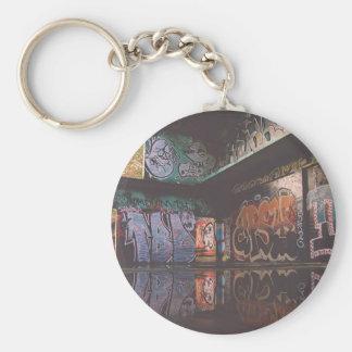 Graffiti Grunge Design Keychain