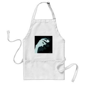graffiti hand x-ray adult apron