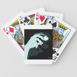 graffiti hand x-ray bicycle playing cards