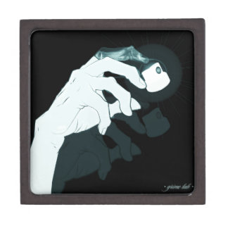 graffiti hand x-ray keepsake box