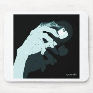 graffiti hand x-ray mouse pad