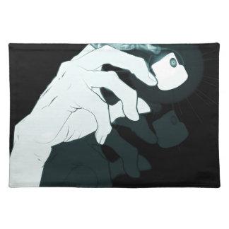 graffiti hand x-ray placemat