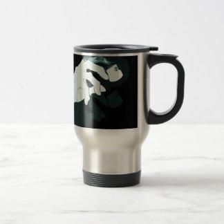 graffiti hand x-ray travel mug
