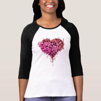 Graffiti Heart R T-Shirt